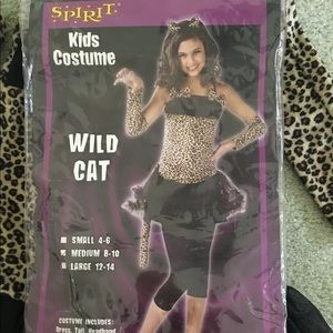Other - Leopard cat Halloween costume size medium 8-10